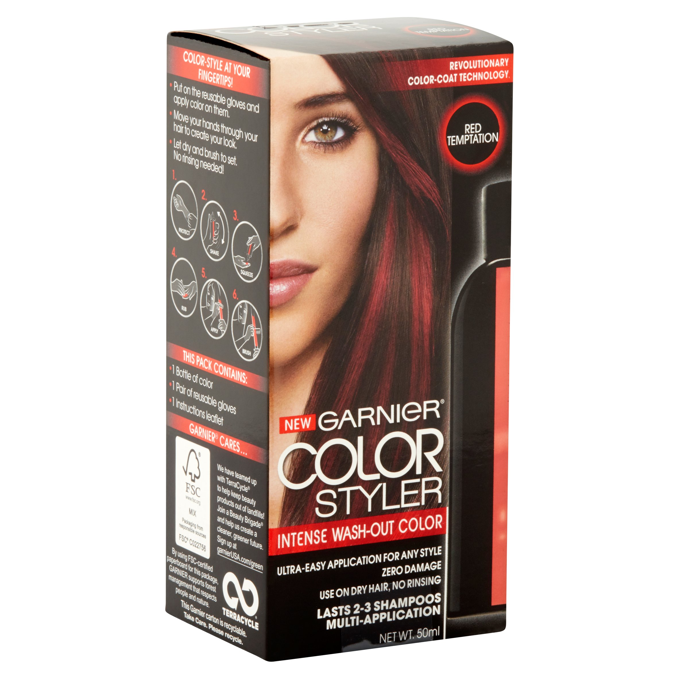Review Garnier Color Styler Intense Washout You
