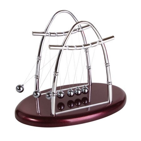 Newtons Cradle Balance Balls Physics Pendulum Office Classic