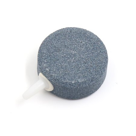 Gray Mineral Airstone Bubble Diffuser Plate Air Curtain Aquarium Pond Accessory - image 2 of 2