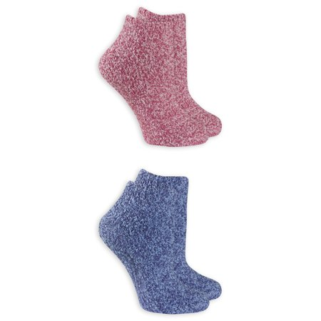 Dr. Scholls Womens Soothing Spa Low Cut Socks 2 Pack