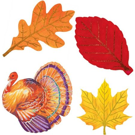 Turkey Glitter Cutouts