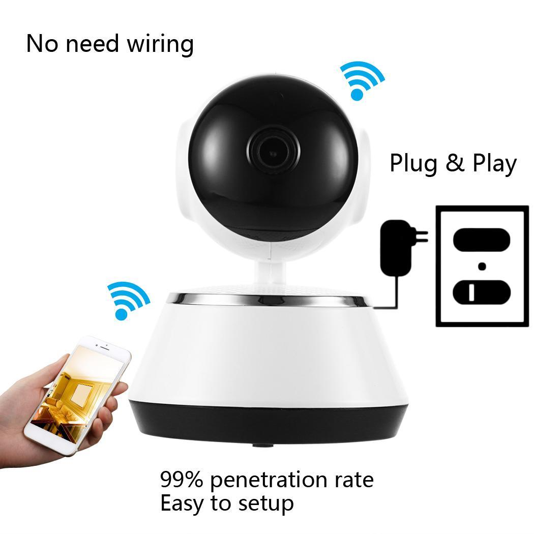 Black Friday Clearance! Wireless WiFi Baby Monitor Alarm Home Security IP Camera HD 720P Night Vision KRGL