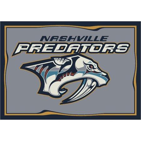 """Nashville Predators 5'4"""" x 7'8"""" Premium Spirit Rug by"""