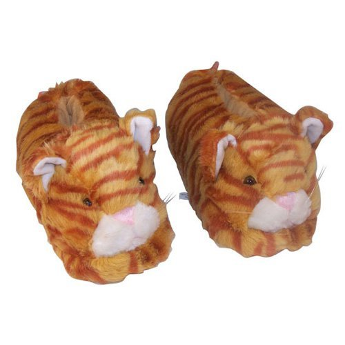 Happy Feet CLOSEOUT Mens and Womens Animal Slippers