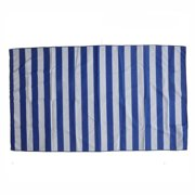 Fankiway Printed Striped Beach towel Double-Sided Microfiber Beach towels