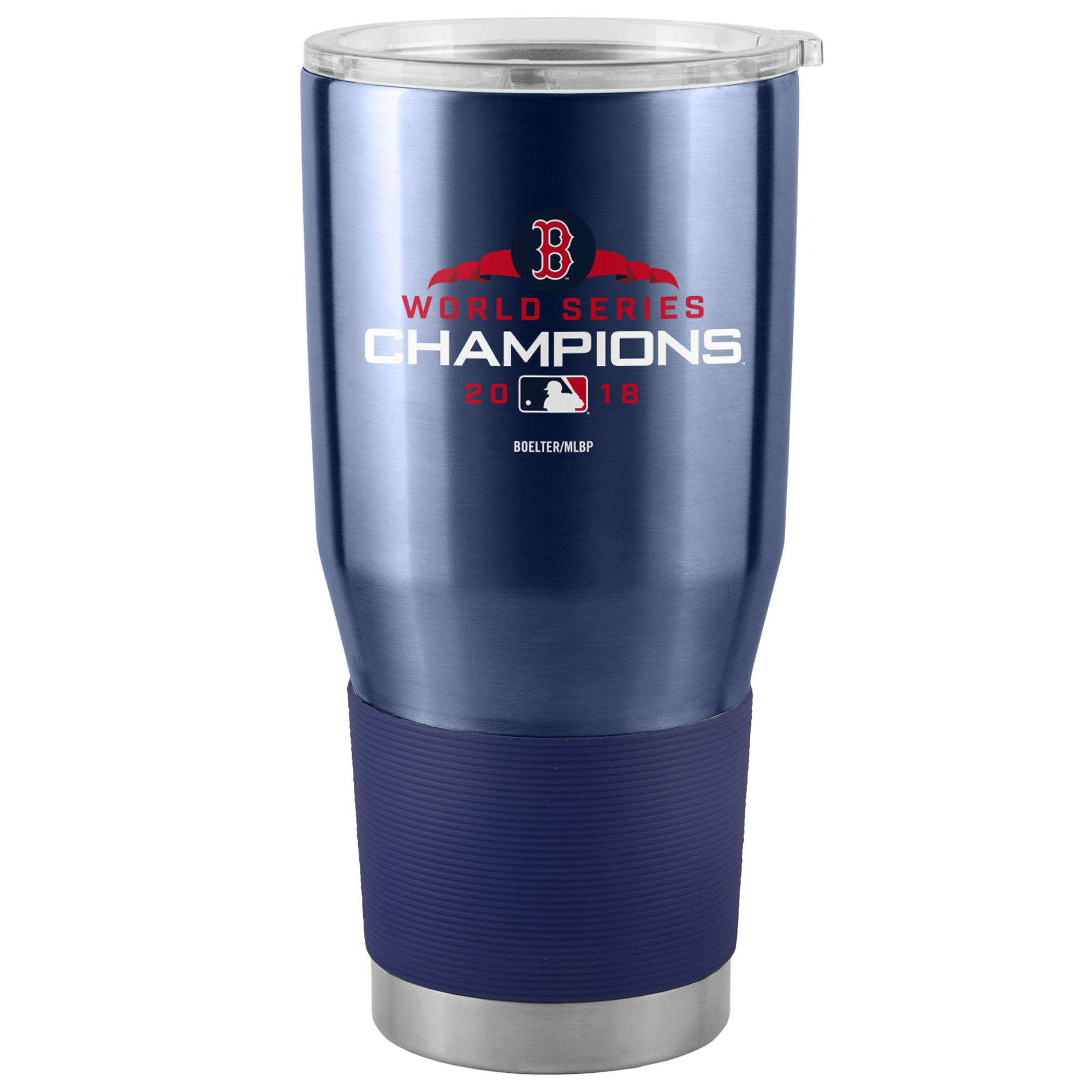 Boston Red Sox 2018 World Series Champions 30oz. Curved Ultra Tumbler - Navy - No Size