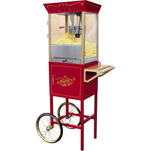 walmart popcorn machine cart