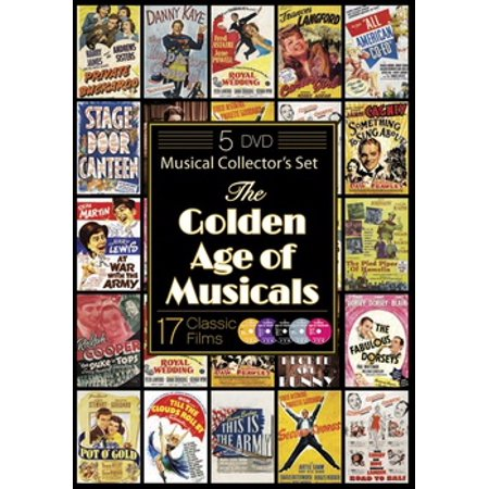 The Golden Age of Musicals (DVD) (Films Of The Golden Age Magazine)