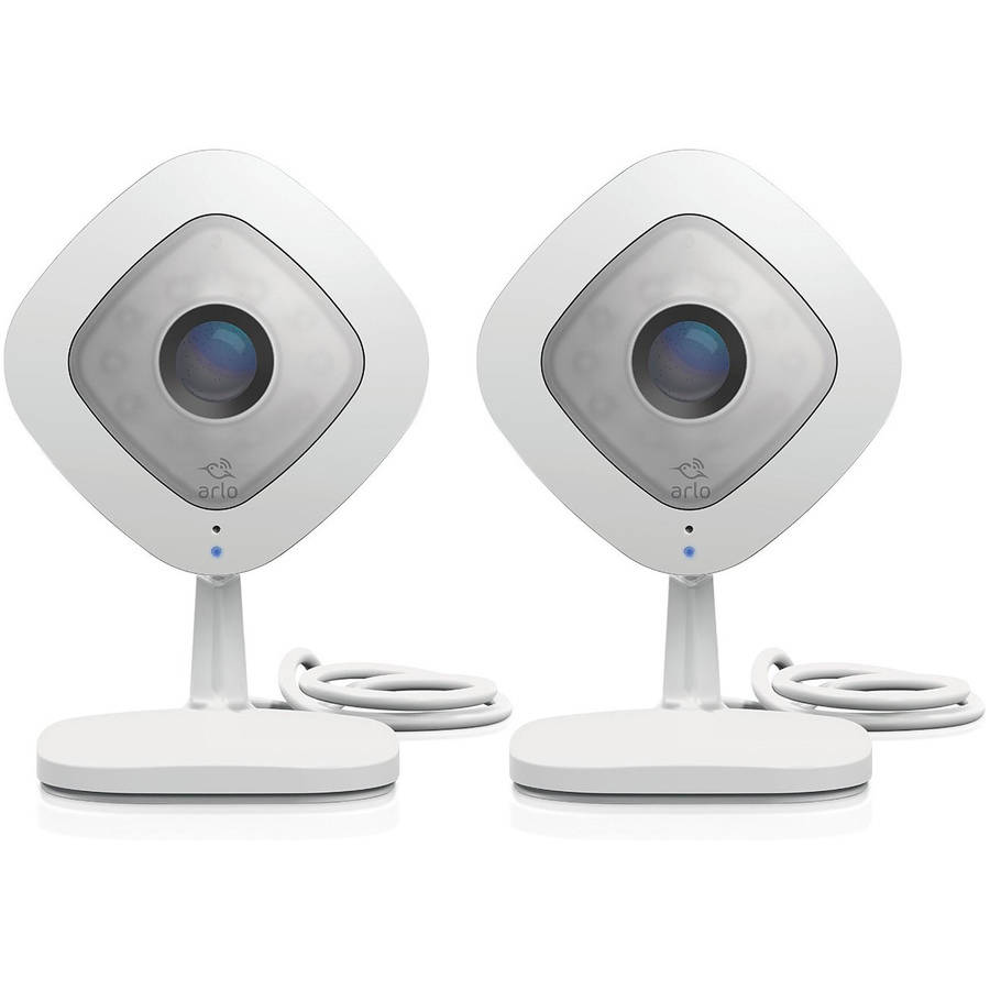 Arlo Q 1080p HD Security Camera with Audio, 2 Pack, VMC3240