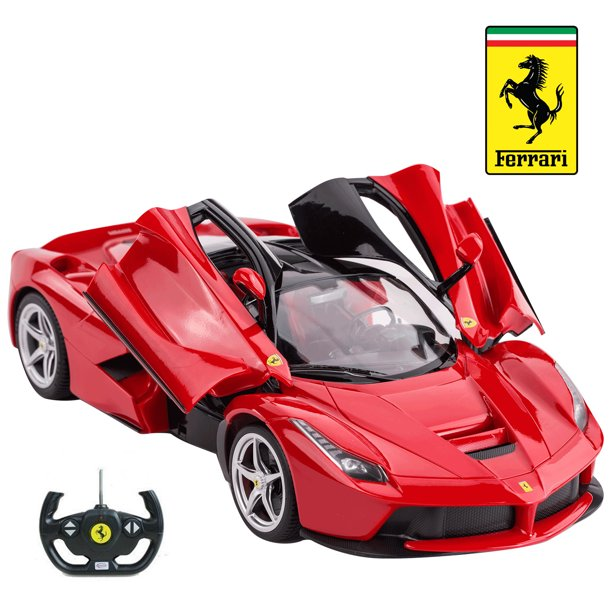Licensed Rc Car 1 14 Scale Ferrari Laferrari Rastar Radio Remote Control 1 14 Rtr Super Sports Car Model Walmart Com Walmart Com