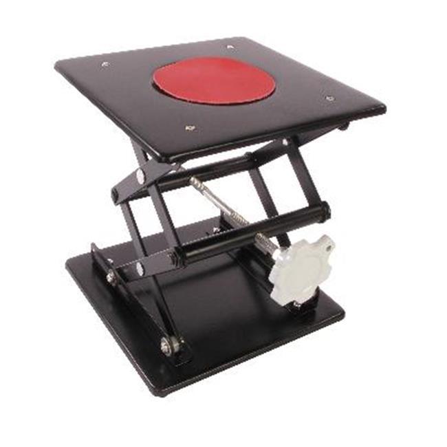 American Educational Products 7-9002 Lab Jack, Black Enamel - 8 X 8 In.