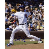 "Chris Rusin Chicago Cubs Fanatics Authentic Autographed 8"" x 10"" Pitch Photograph - No Size"