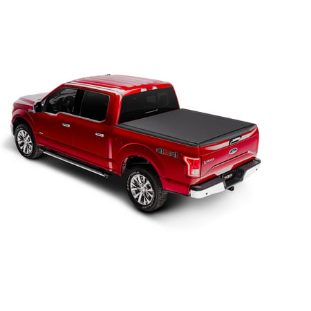 Truxedo 1486901 Tonneau Cover PRO X15 Soft Roll-Up Velcro; Lockable Using Tailgate Handle Lock; Matte Black; Woven Fabric - image 2 of 2