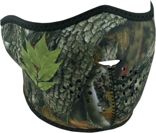 Zan Headgear Half Face Neoprene Mask Forest Camo by Balboa Manufacturing