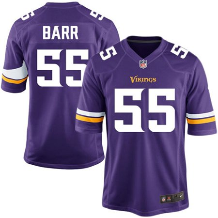 best loved 42842 09dba Anthony Barr Minnesota Vikings Youth Nike Team Color Game Jersey - Purple