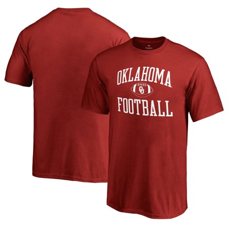 Oklahoma Sooners Fanatics Branded Youth First Sprint T-Shirt - (Beyond The Zone Color Jamz Crimson Storm)