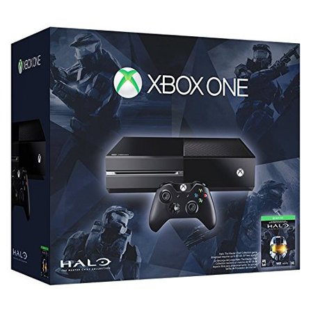 Refurbished Xbox One 500GB Console Halo: The Master Chief Collection