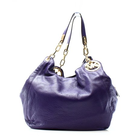 05660ba957d5 Michael Kors - Michael Kors NEW Purple Pebble Leather Fulton ...