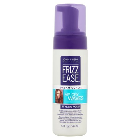 John Frieda Frizz Ease Dream Curls Air Dry Waves Styling Foam  5 Fl Oz