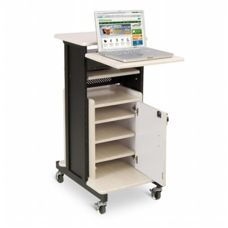 Oklahoma Sound PRC250 Premium Plus Presentation Cart with Storage Cabinet - Halloween Stores In Oklahoma