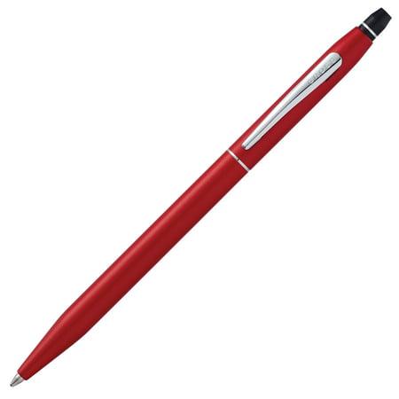 Cross Click Crimson Lacquer Ballpoint Pen Alabama Crimson Tide Pen
