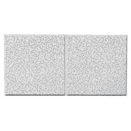 """ARMSTRONG Ceiling Tile,24"""" W,48"""" L,3/4"""" Thick,PK10 2767D"""