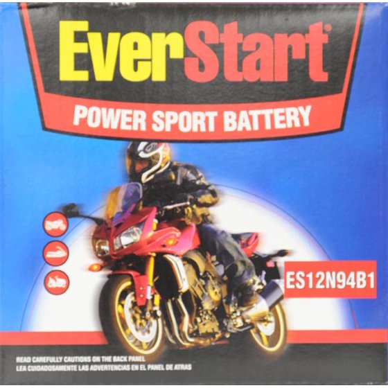 EverStart PowerSport Battery, ES-12N94B1
