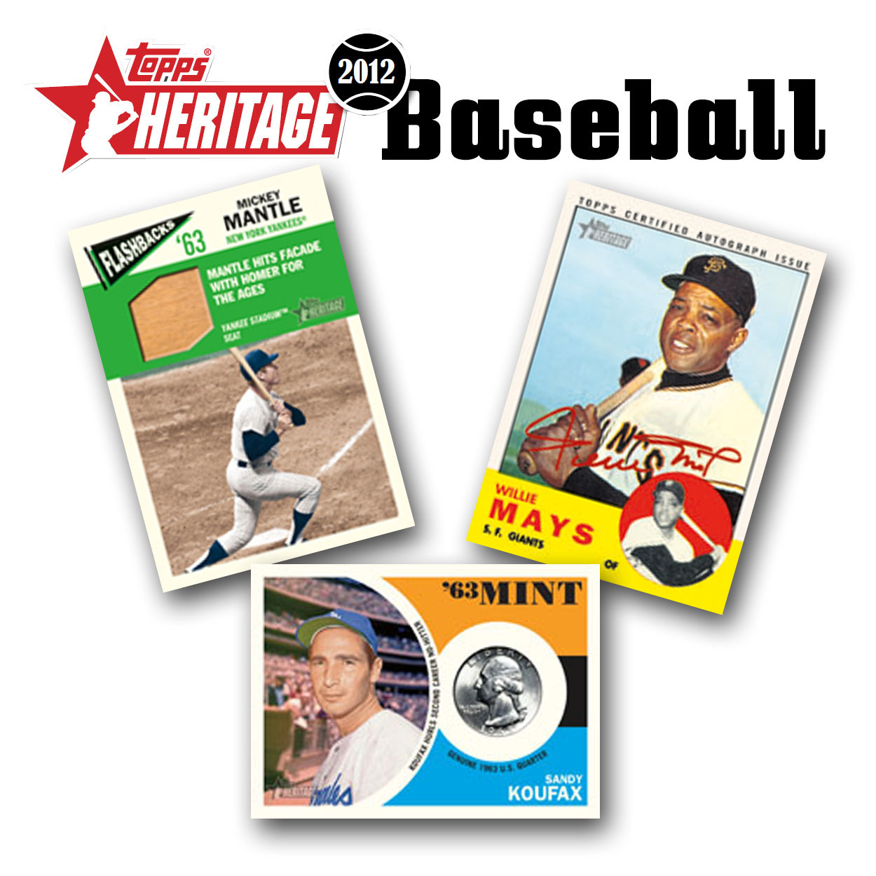 2012 Topps Heritage Gravity Feed Pack