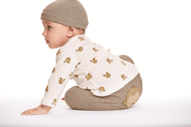 aaab2362a Carter's - Child Of Mine Newborn Baby Boy, Girl or Unisex Long Sleeve  Bodysuit, 3 Pack - Walmart.com