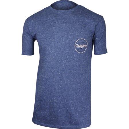 Quiksilver Mens Quik Lightening T-Shirt - Vintage Indigo Heather (Quik Tee)