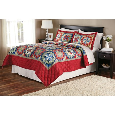 - Mainstays Shooting Star Classic Patterned Quilt