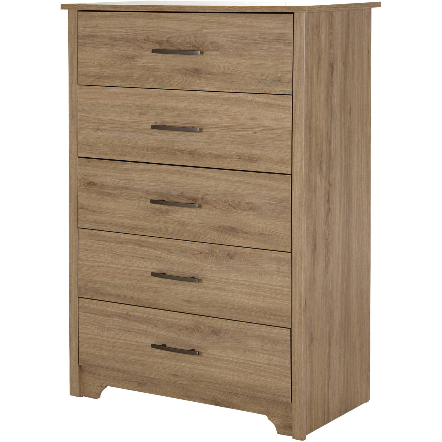 South Shore Fusion 5-Drawer Chest, Multiple Finishes