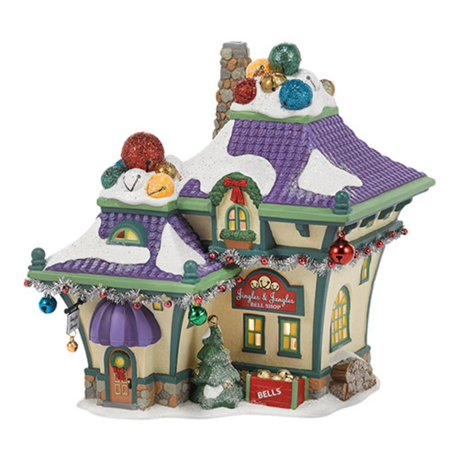 Department 56 North Pole Series Quot Jingle And Jangle S Bells
