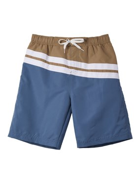 03f2dfd9efb6f Product Image Color Block Swim Trunk (Big Boys)
