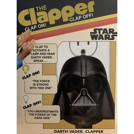 Star Wars  Retro Darth Vader-Clapper Talking Darth Vader Darth Vader Limited Edition
