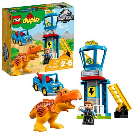 Tower Lego - LEGO DUPLO Jurassic World T. Rex Tower10880(22 Pieces)