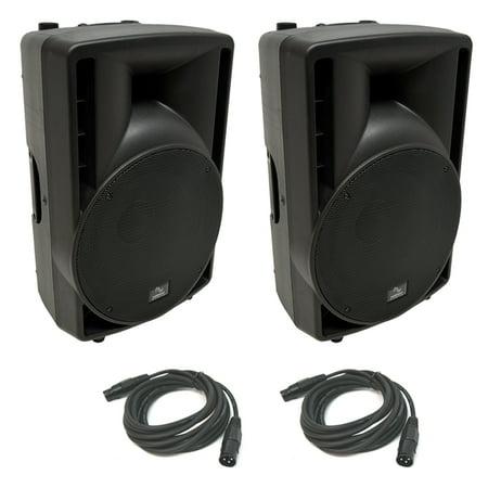 (2) Harmony Audio HA-C12A Pro DJ 12