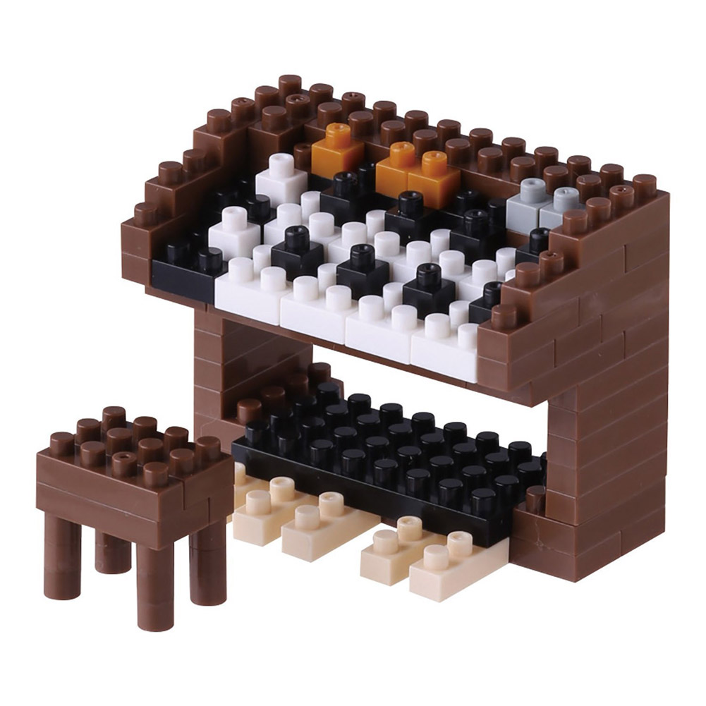 Nanoblock Electric Organ Building Kit 3D Puzzle by nanoblock