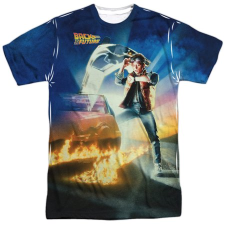 Back to the Future Movie Poster Mens Sublimation Shirt - Back To The Future Merchandise