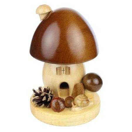 Brown Mushroom German Smoker   -