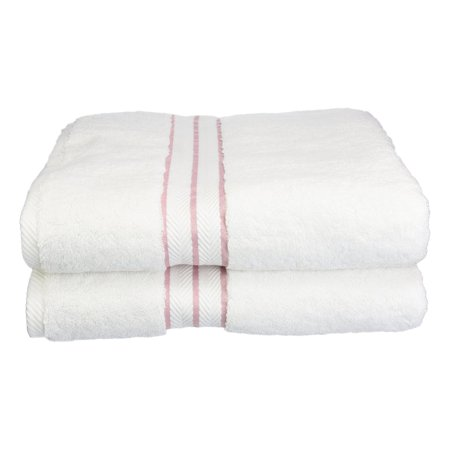 Superior 900 GSM Long-Staple Combed Cotton Hotel Collection 2 Piece Bath Towel Set