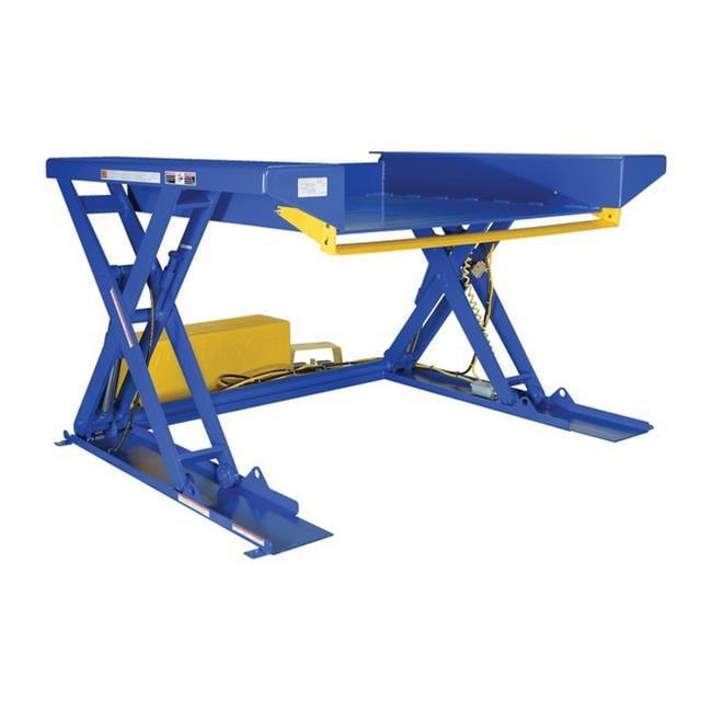 Vestil EHLTG-5250-2-36 Ground Lift Scissor Table, 52 x 51...
