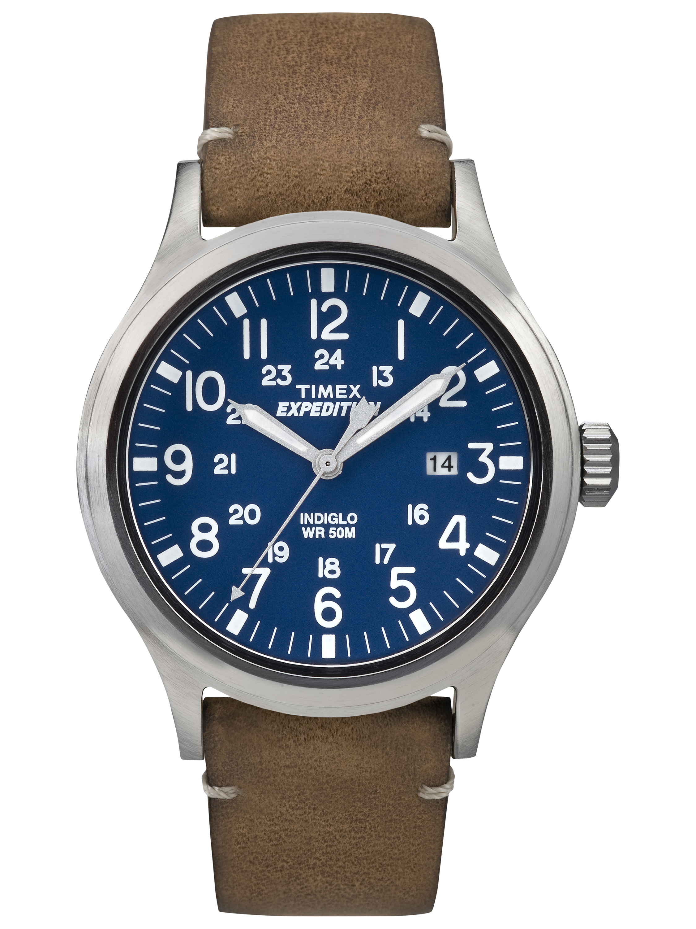Timex Men's Expedition Scout Watch, Tan Nylon Strap by Timex