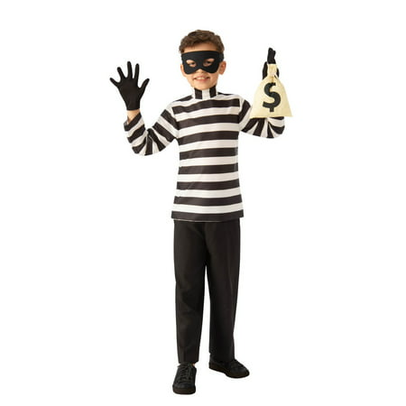 Child Burglar Halloween Costume - Woman Burglar Halloween Costume