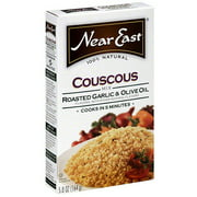 Near East Roasted Garlic & Olive Oil Couscous, 5.8 oz (Pack of 12)