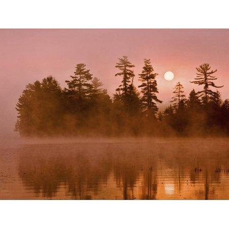 Jay Park Halloween (Sunrise on a Lake, Adirondack Park, New York, USA Print Wall Art By Jay)
