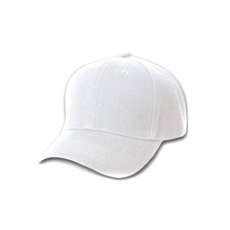 12 Baseball Caps Wholesale- White](White Baseball Caps)