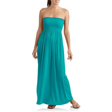 1af2dfafa5ff9 Faded Glory - Women's Bree's Solid Planet Jersey Maxi Dress ...