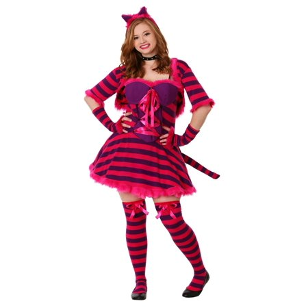Plus Size Sexy Wonderland Cat Costume (Cat Costume Ideas Adults)