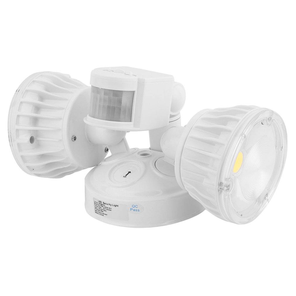 hot selling super bright 30w led security flood light outdoor sensor and motion detector lamp dual - Outdoor Motion Sensor Light